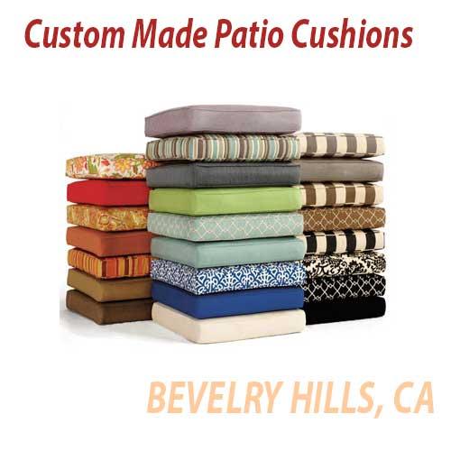 Beverly Hills Patio Cushions Custom Made